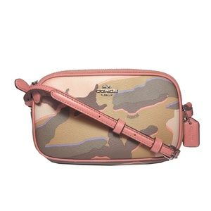 Coach | Wild Camo Double Zip Crossbody Bag
